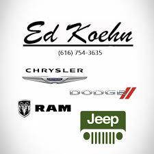 Auto Parts Sales Representative - Ed Koehn Chrysler Jeep